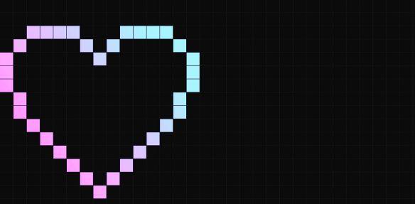 corazon,-pixel,-cuadrados-164158